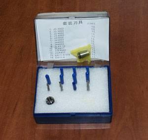 Комплект инструмента и цанги