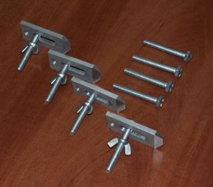 Струбцыны для крепления заготовок на рабочем столе