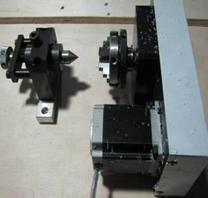 Поворотное устройство для гравировки на цилиндрических поверхностях