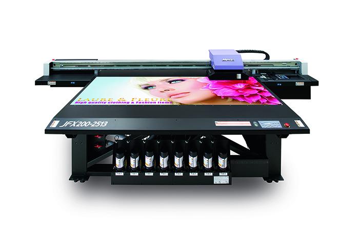 Mimaki JFX200-2513 широкоформатный УФ плоттер