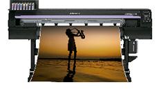 Mimaki СJV150-130 - широкоформатный сольвентный принтер-каттер