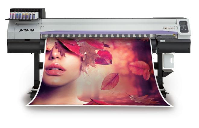Mimaki JV150-160 - широкоформатный сольвентный принтер